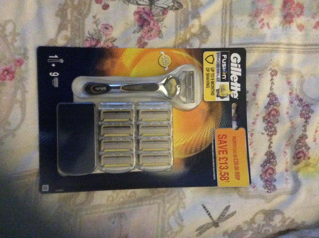 Gillette Fusion razor Set worth £43 rrp £30
