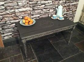 Coffee Table Hand painted shabby chic
