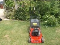 "Sovereign 18"" Cut Push Lawnmower Good Working Order"