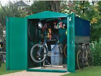 ***NOW SOLD*** - ASGARD BIKE SHED FOR SALE £450 o.n.o (purchased in August 2017 for £870)