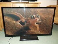 """PANASONIC TXP50GT50B 50"""" 3D PLASMA TV (AND GLASSES)"""