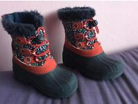 Girls winter boots size c10