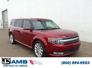 2017 Ford Flex Limited Ecoboost AWD with Vista Roof, Navigation