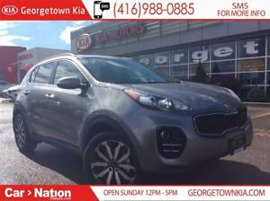 2018 Kia Sportage EX AWD | $199 BI-WEEKLY | LEATHER |
