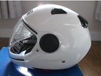 AGV / MDS Sunjet White Motorbike Helmet Size Large but closer to Medium - New in Box / Unused.
