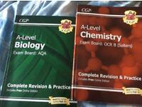 CGP full a level course for biology and chemistry