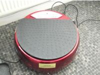 VIBROPOWER VIBRATION PLATE, WITH STRETCH BANDS & REMOTE