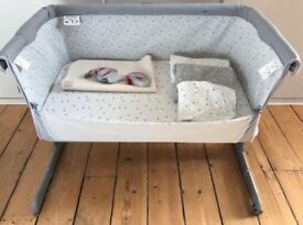 Chicco Next 2me side sleeping crib