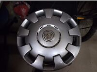 Vauxhall Wheel trims from an 05 Corsa