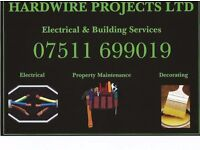 Electrician and property maintenance services