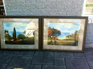 2 BEAUTIFULL PICTURES SACRIFICE PRICE ONLY $125 FOR BOTH