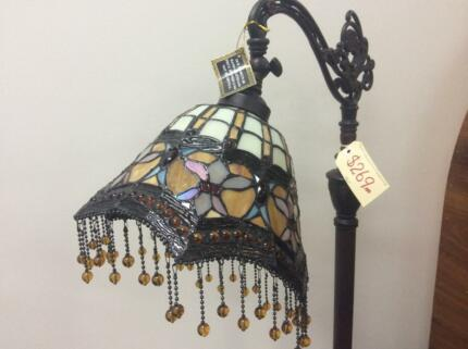 New Leadlight Tiffany, Edwardian, Bankers, Floor & Table Lamps Cleveland Redland Area Preview
