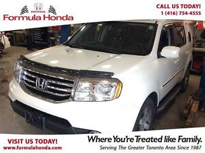 2014 Honda Pilot Touring- Experience its unique ride and handlin