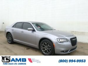 2016 Chrysler 300S AWD with Sunroof, Navigation and Uconnect