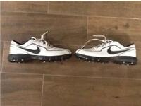 Nike Golfing Shoes Size 8 U.K.
