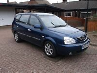 2006 Kia Carens MPV 2.0 AUTOMATIC DIESEL, 68k miles. £895. (P/X Welcome) (I DO NOT ANSWER TEXTS)