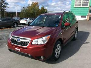 2014 Subaru Forester AWD TOURING PACKAGE - FRESH OFF LEASE!