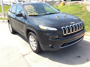 2016 Jeep Cherokee LIMITED/LEATHER/4X4