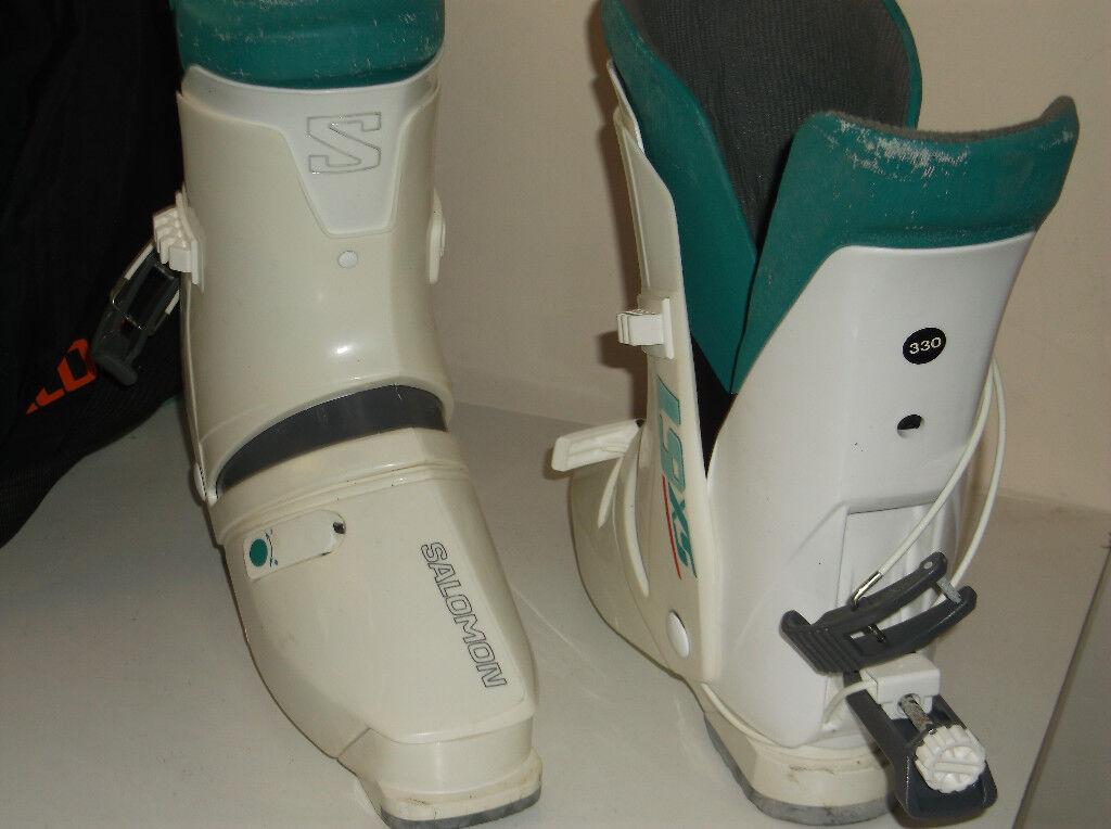 1243681bfaff Salomon SX 61 ski boots size 330