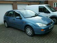 Ford Focus....low mileage for age