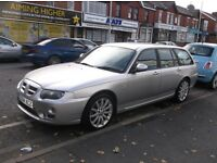 04 MG ROVER ZT T 2.5 EST 190BHP ONLY 69,000 MILES £1495