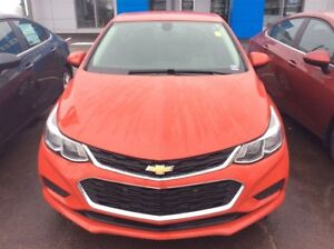 2018 Chevrolet Cruze LS Auto, Lease For $ 125 b/w