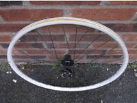 8 speed free hub back wheel, 26 inch