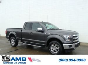 2017 Ford F-150 Lariat 4x4 with Navigation, Active Park Assist a