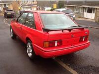 Ford Escort XR3i - 1988 - F reg - PROJECT