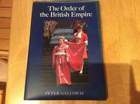 The Order of the British Empire. By Peter Galloway