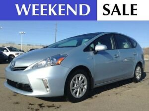 2012 Toyota Prius v NAVI | HEATED LEATHER | BLUETOOTH | SUROOF |