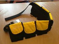 Scuba diving weight belt