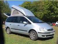 Ford Galaxy Campervan Motorhome Wheelhome Pop Top
