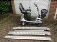 Mobility Scooter - Quingo Flyte Self Loading Portable Scooter - Hardly Used - 87.2hrs
