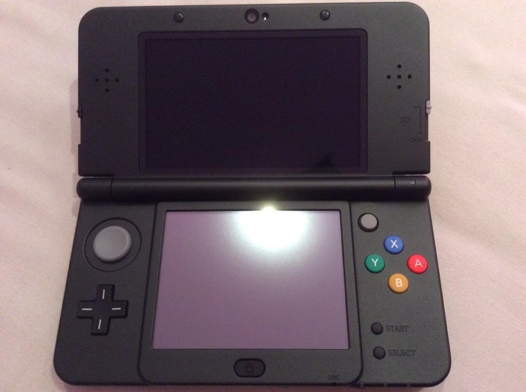 new 3ds black regular size with pokemon sun and moon | in Clapham ...
