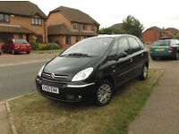 1.6 citroen picasso genuine low milage