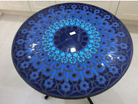 Marks & Spencer Katerini Blue Mosaic Bistro Table Brand New & Boxed