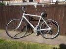 Marin 24 speed bike lightweight cycle 19inch silver top brand
