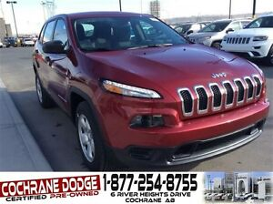 2016 Jeep Cherokee Sport - JUST REDUCED! 4X4!!