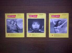 vintage ( 1950s ) movie maker magazines / amateur photographer 1957 / practical photography 1959