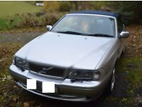 Volvo C70 Convertible 2.0T ('Beryl') - MOT until September 2017 - £875 or Swap for 4x4 or AWD?