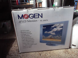 "Mogen 20"" LCD Television - Remote Control - Nicam Stereo - Contrast 500:1"
