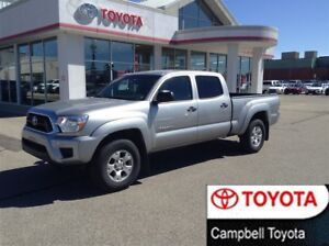 2015 Toyota Tacoma DOUBLE CAB--SR5--4X4--LOCAL TRADE--1 OWNER