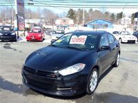 2013 Dodge Dart SXT, LOW KMS, OWN FOR $134.00 B/W