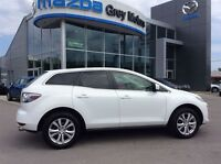 2011 Mazda CX-7 GS, AWD, Heated Leather, Sunroof, low kms !