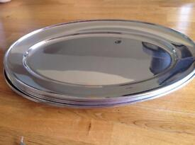 Stainless Steel Serving /banqueting platters 40cm