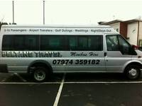 Minibus hire