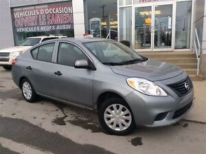 2012 Nissan Versa * 1.6 S * MAN * JAMAIS ACCIDENTÉ * IMPECCABLE
