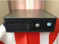 INTEL 2.8 DUAL CORE SMALL FORM PC WIN 7 READY NOW WITH 12 MONTH WARRANTY