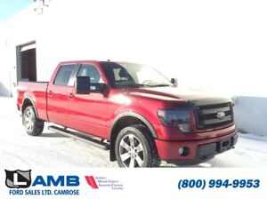 2014 Ford F-150 FX4 with Power Moonroof, Navigation, Remote Star